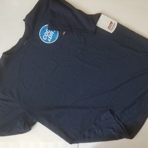 NWT Men's Dickies Short Sleeve T Shirt Navy XXL